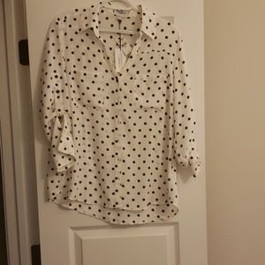 New with tags Express portofino blouse